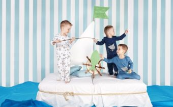 Артём Иванов (STAR KIDS) в рекламе детских пижамок от BAYKAR