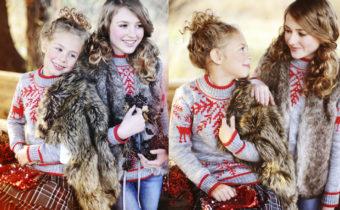 Настя Нагашбаева и Кристина Козлова (STAR KIDS) для SNEGMAGAZINE.RU