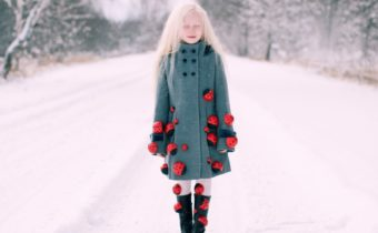 Полина Бугрова (STAR KIDS) на съемке у фотографа Милы Королёвой