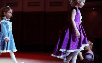 Малышки STAR KIDS выступили на Новосибирской неделе моды
