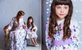 Малышки STAR KIDS на съемках коллекции платьев 2ME