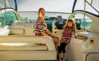 Малыши старкиндеры на показе в яхт-клубе Аквалэнд