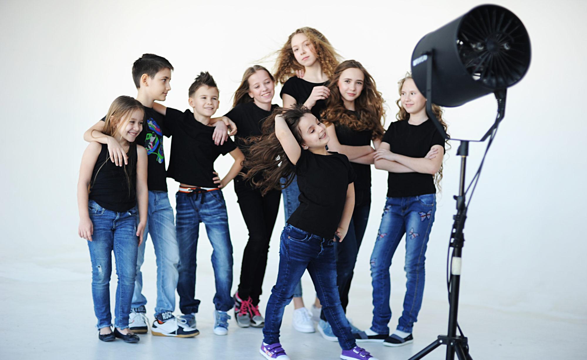 Детское модельное агентство STAR KIDS в Новосибирске
