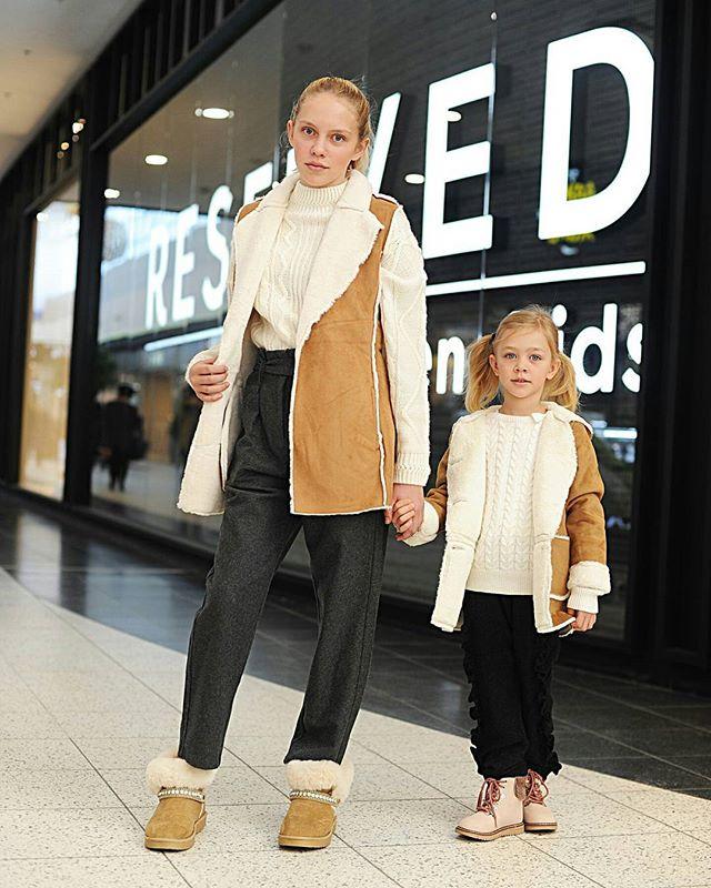 Семейные образы от магазинов Меги @mega_nsk и стилиста Анны Фильченко @fil4ula